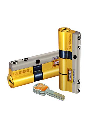 全铜超B级C级锁芯第七代七彩36叶片锁芯
